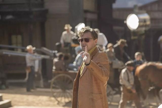 Leonardo DiCaprio em cena de 'Era uma vez em Hollywood' — Foto: Divulgação