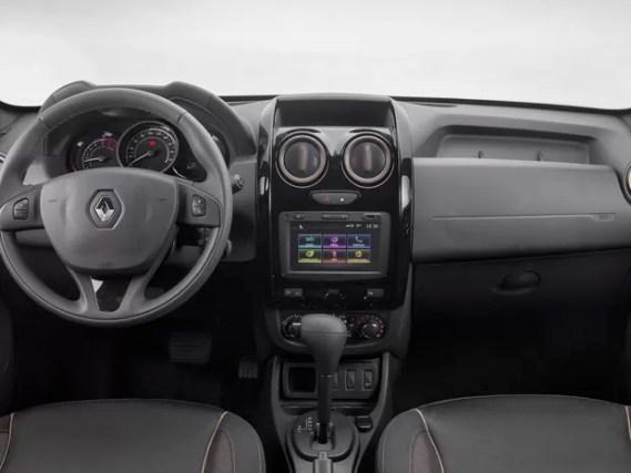Novo Duster 2016 interior