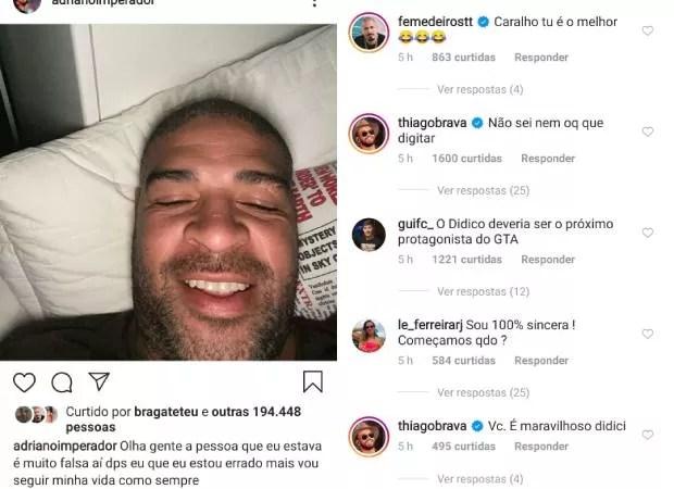 Adriano Imperador (Foto: Reprodução/Instagram)