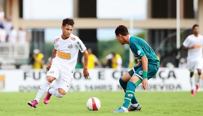 santos e goiás final copa são paulo junior (Foto: Marcos Ribolli / Globoesporte.com)
