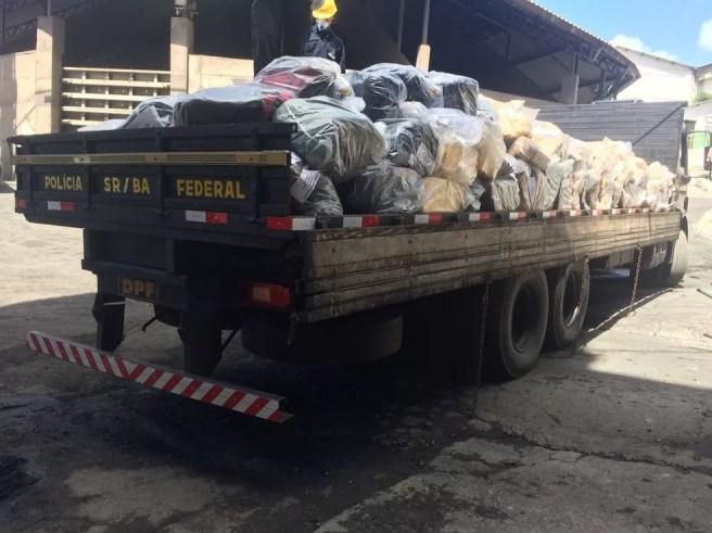 Droga foi apreendida entre setembro de 2017 e maio deste ano (Foto: Polícia Federal/ Divulgação)
