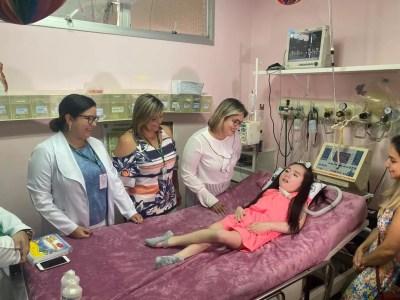 Lele, como é chamada pelos entes queridos, morava em Coari quando apresentou os primeiros sintomas da doença degenerativa. — Foto: Carolina Diniz/G1