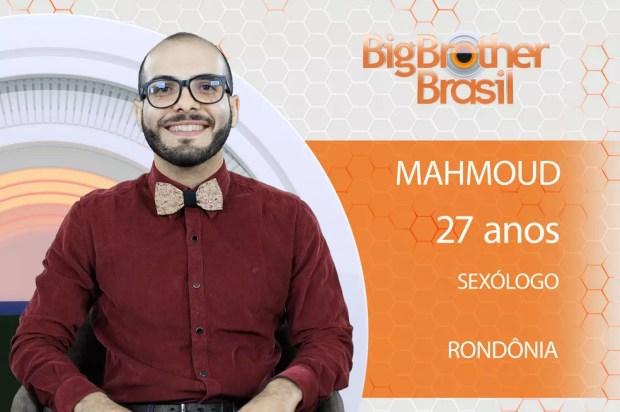 Mahmoud, participante do 'BBB18' (Foto: Divulgação)