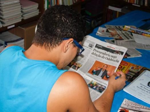 Pela remição de pena, reeducandos terão que preparar resumos das obras literárias que leem (Foto: Secretaria de Justiça e Direitos Humanos/Divulgação)