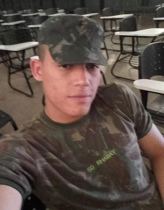 Soldado do Exército foi morto na quadra 906 Sul, em Palmas — Foto: Reprodução/Facebook
