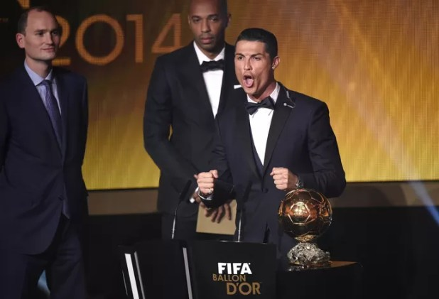 Cristiano Ronaldo Bola de Ouro (Foto: AFP)