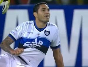 Braian Rodriguez, do Huachipato-CHI (Foto: Reprodução SporTV)