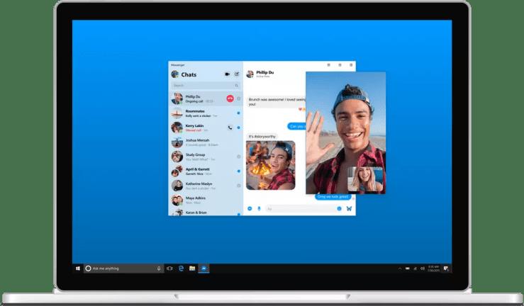 Facebook Messenger ganhará versão para desktop ainda neste ano — Foto: Divulgação