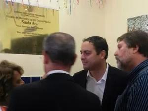 Governador Paulo Câmara (Foto: Marina Meireles/G1)