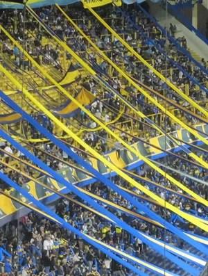 Torcida, La Bombonera, Fluminense x Boca Juniors (Foto: Rafael Cavalieri / Globoesporte.com)