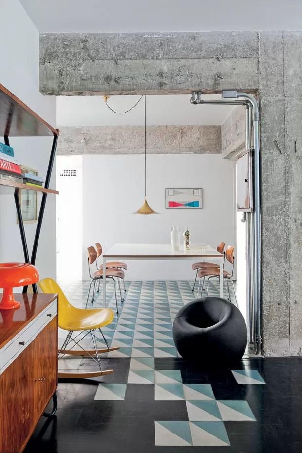 Um lugar de puro despojamento  Casa Vogue  Apartamentos