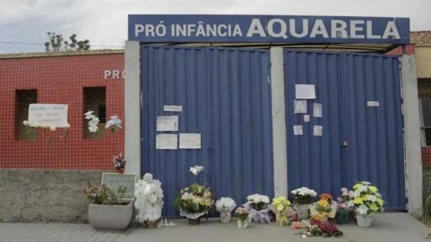 Ataque a creche deixou cinco mortos, sendo três crianças de menos de dois anos — Foto: Sirli Freitas/Arquivo pessoal