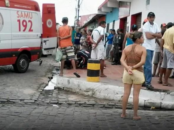 Guarda municipal foi socorrido e levado a hospital, mas não resistiu (Foto: PM/Divulgação)