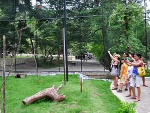 Parque Zoobotânico Arruda Câmara (Bica), em João Pessoa (Foto: C.Lima/Secom-JP)