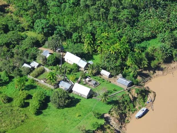 A Frente de Proteção Etnoambiental do Rio Envira (Foto: Gleilson Miranda/Agencia de Noticias do Acre)