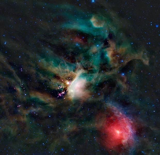 Açúcar espaço (Foto: NASA/JPL-Caltech/WISE Team )