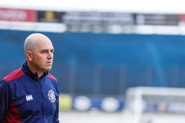 Rafael Jacques, técnico do Caxias — Foto: Luiz Erbes/Caxias