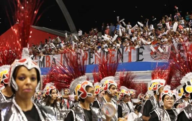 Carnaval São Paulo - Desfile Escola de Samba Independente (Foto: Marcos Ribolli)