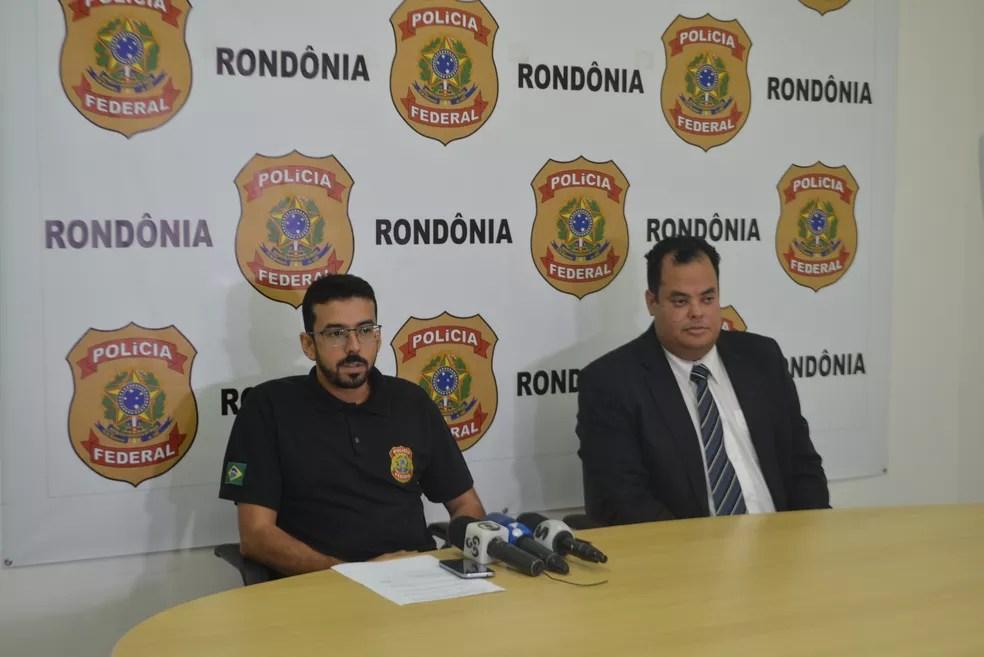 Delegado explica como funcionava esquema criminoso de quadrilha (Foto: Sara Cicera/G1)