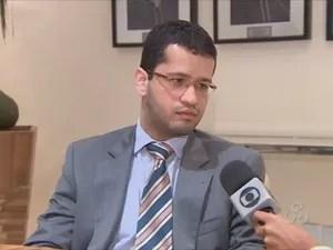 Promotor da Infância e Juventude Rodrigo Assis (Foto: Reprodução/TV Amapá)