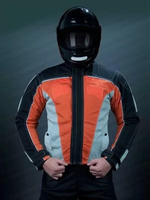 Jaqueta à prova de balas para motociclista (Foto: Divulgação)