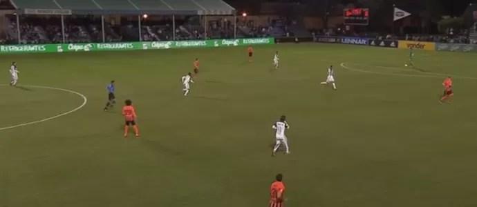 Corinthians marca a saída de bola do Shakhtar e consegue gol com Danilo (Foto: Reprodução)