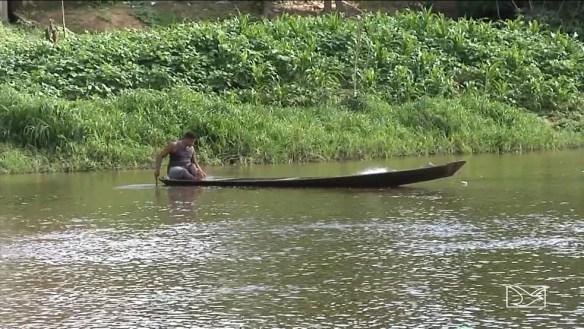 Pescadores denunciam irregularidades na liberação do seguro-defeso (Foto: Reprodução/TV Mirante)