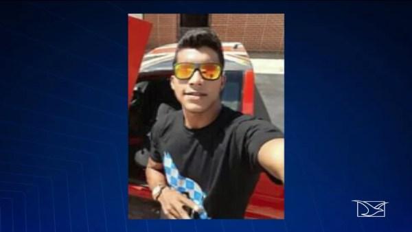 Homem identificado como Leandro é considerado suspeito e foi preso pela polícia logo após o tiroteio. — Foto: Reprodução/TV Mirante