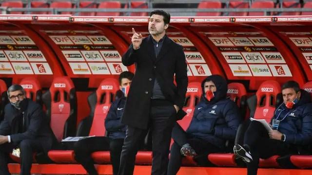Mauricio Pochettino tenta levar PSG à liderança do Francês