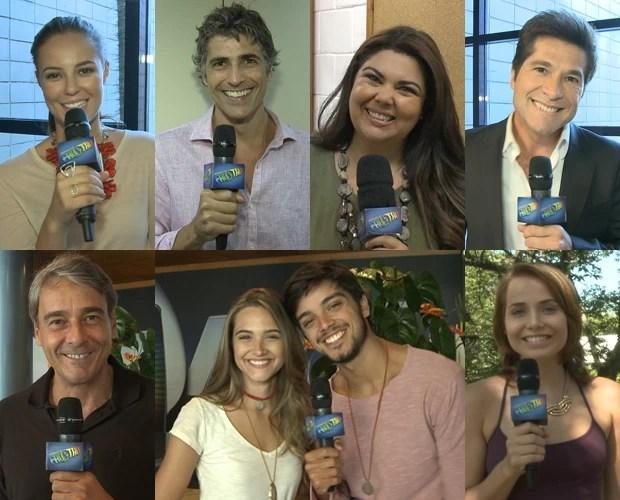 Famosos soltam a voz em homenagem ao grande retorno de Netinho (Foto: Domingão do Faustão/ TV Globo)