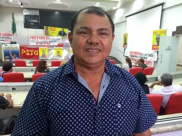 Pedro Nazareno é candidato ao governo de RO, pelo PSTU (Foto: Toni Francis/ G1)