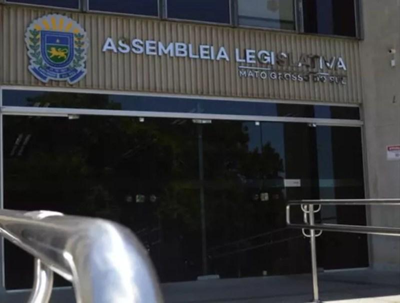 Assembleia Legislativa de Mato Grosso do Sul aprovou o projeto do Mais Social nesta quarta-feira — Foto: Anderson Viegas/G1 MS