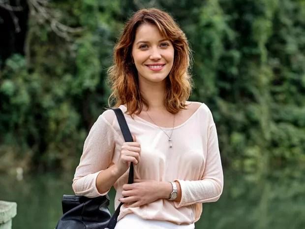Nathalia Dill apresenta o visual de Laura, protagonista de Alto Astral (Foto: Raphael Dias/ TV Globo)