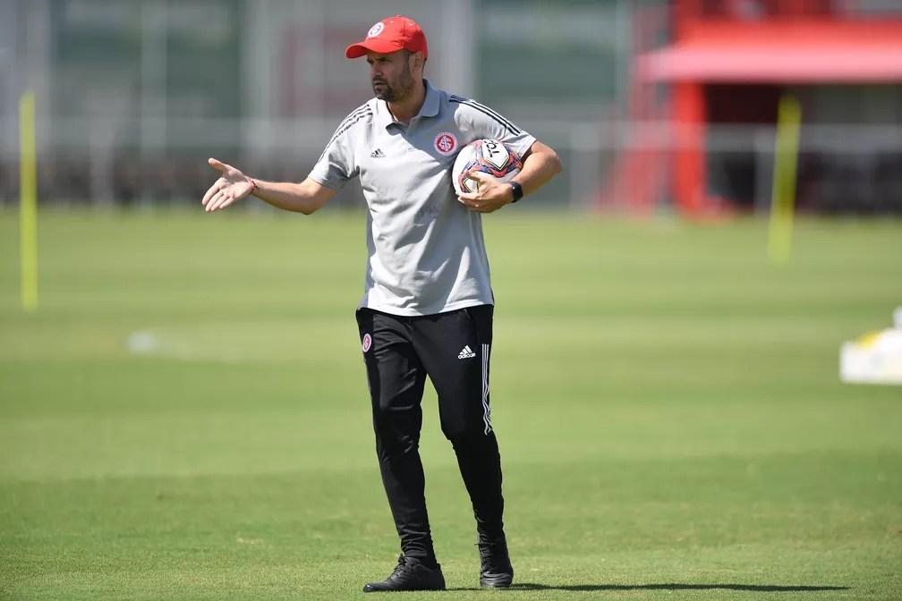 Miguel Ángel Ramírez, novo técnico do Inter — Foto: Ricardo Duarte/Divulgação Inter