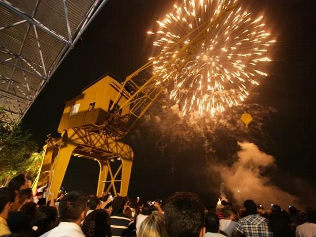 Operação deve garantir energia elétrica durante as festas do fim de ano.  Estação das Docas Reveillon Belém (Foto: Everaldo Nascimento/ OS Pará 2000)