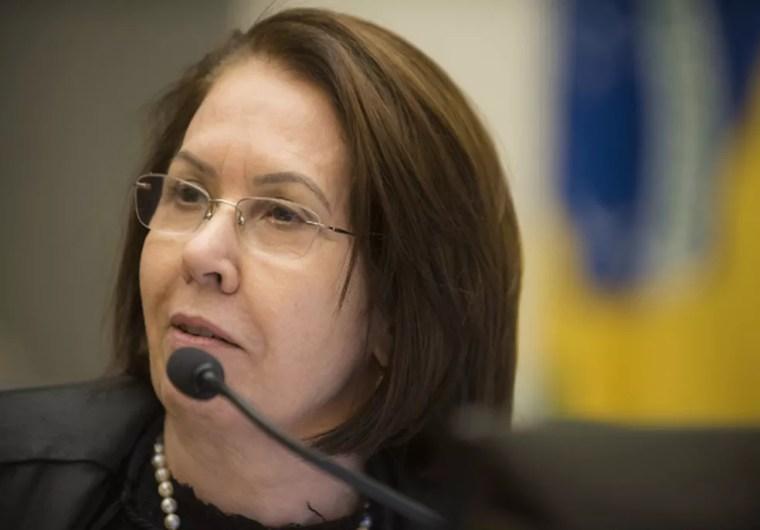 A ministra Laurita Vaz, presidente do Superior Tribunal de Justiça (STJ) (Foto: Sergio Amaral/STJ)