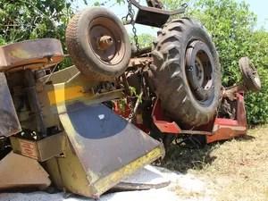 Acidente aconteceu na Fazenda Santa Carolina, em Descalvado (Foto: Maurício Duch)