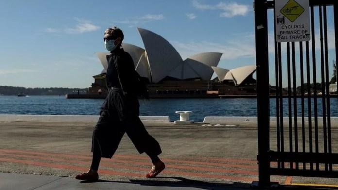 Sydney faz lockdown de duas semanas — Foto: AFP/Getty Images