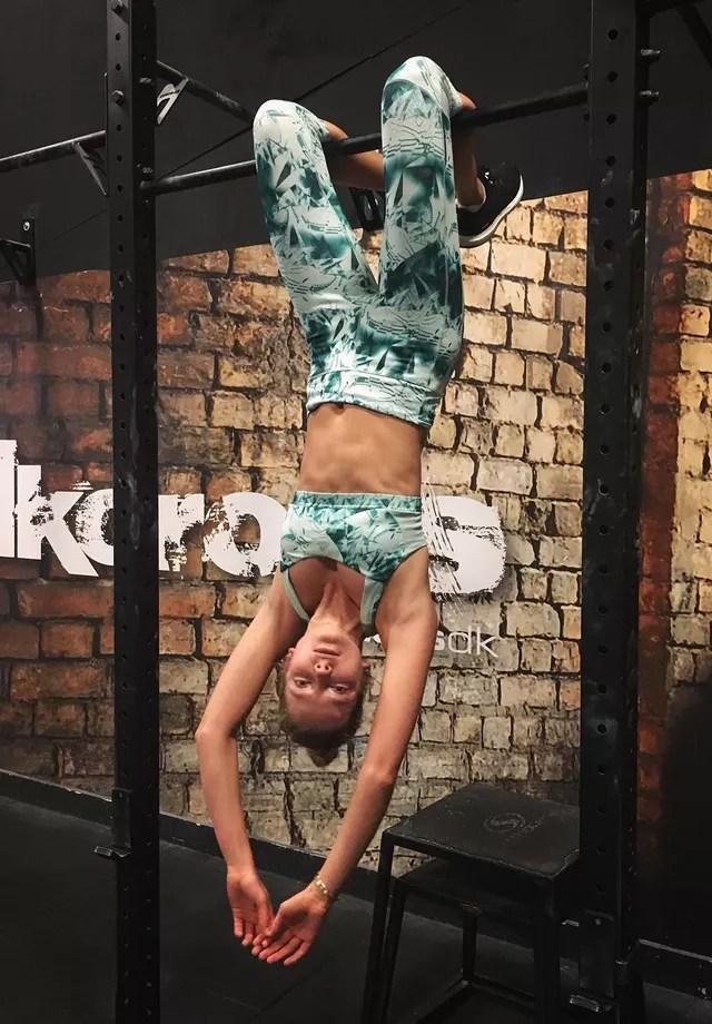 Eniko Mihalik: musculação pós-corrida (Foto: Instagram/Reprodução)
