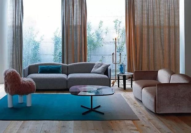 Sala azul 16 ideias para apostar na cor  Casa Vogue