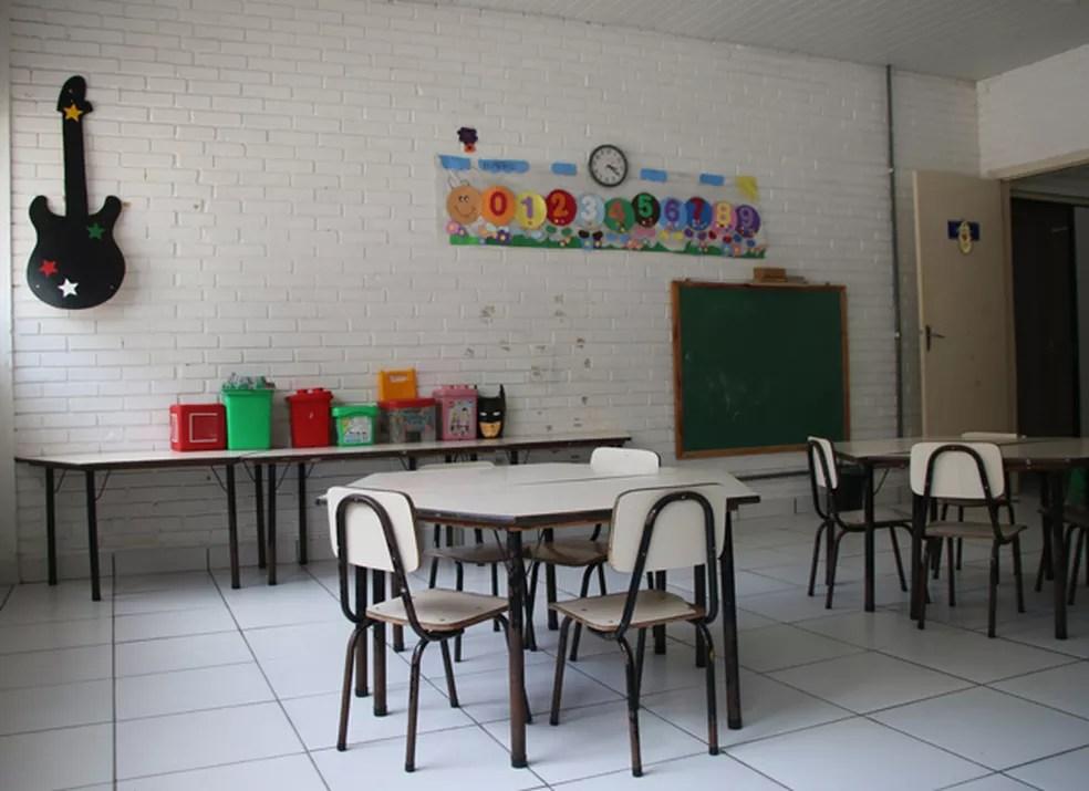 Espaço conta com salas destinadas à realização de brincadeiras com as crianças (Foto: Joyce Heurich/G1)