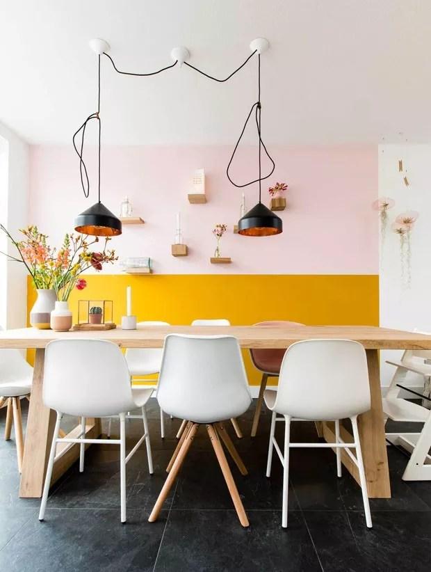 Paredes decoradas 13 ideias de pinturas criativas  Casa