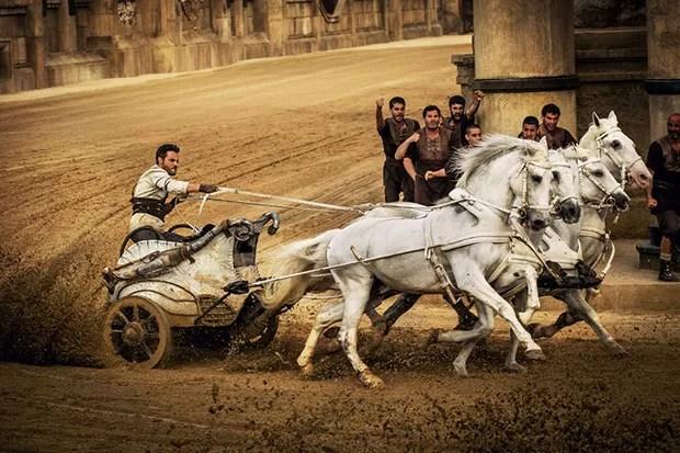 Cena do remake de 'Ben-Hur' (Foto: Divulgação)
