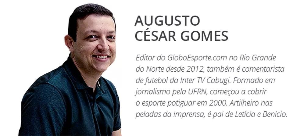 Augusto César Gomes — Foto: GloboEsporte.com