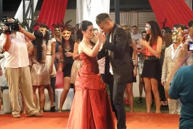 Neymar vira príncipe no TV Xuxa (Foto: TV Globo/ TV Xuxa)