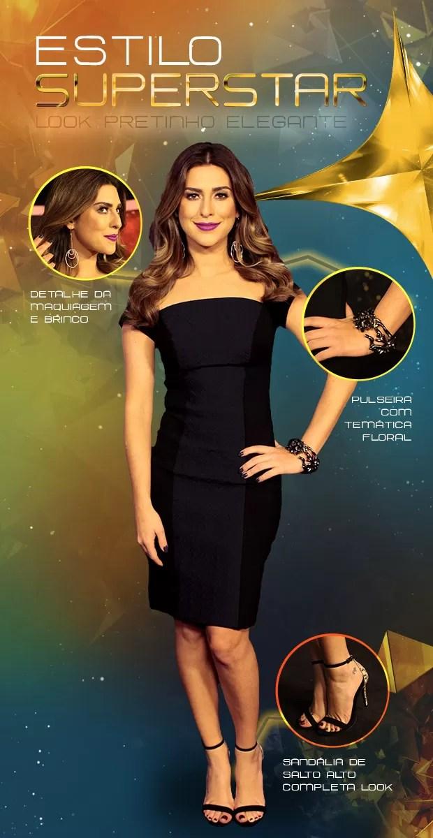 Look Fernanda Paes Leme (Foto: SuperStar / TV Globo)