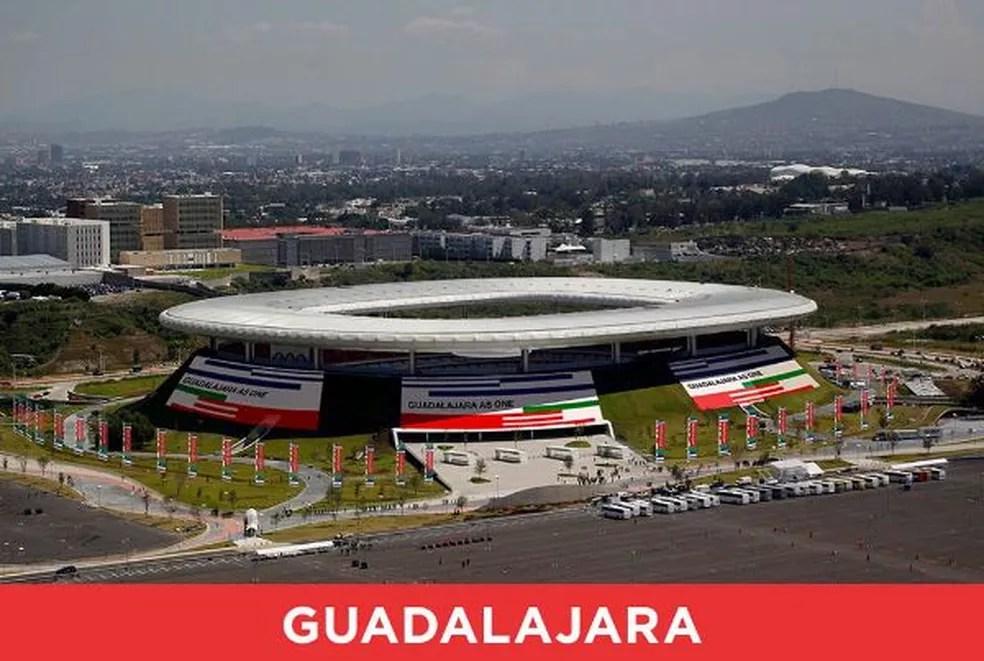 Guadalajara pode ser cidade-sede na Copa do Mundo de 2026 (Foto: Divulgação)