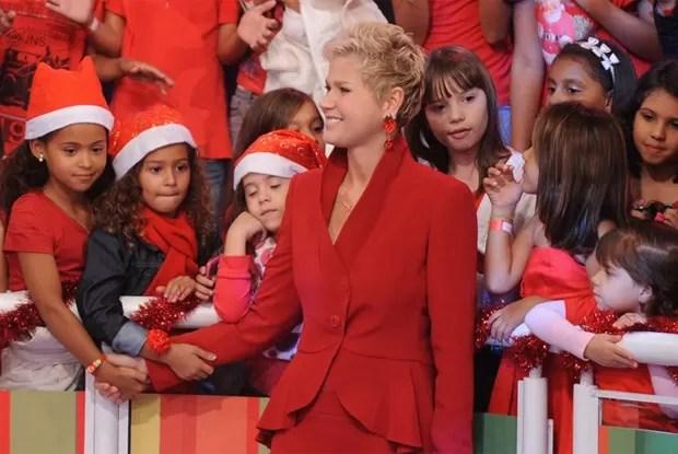 Xuxa prepara Especial de Natal (Foto: Divulgação / Xuxa Produções)