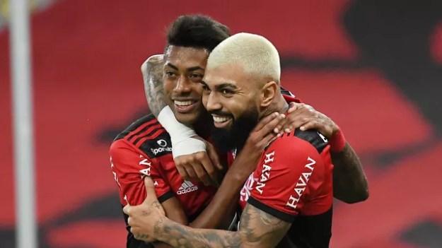 Flamengo x ABC Copa do Brasil Bruno Henrique Gabigol