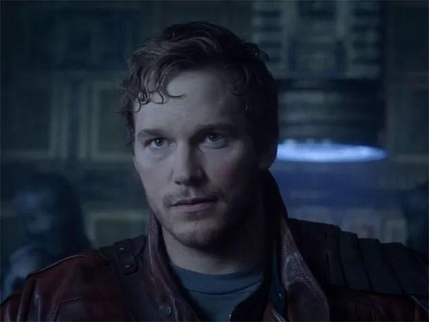 Chris Pratt em 'Guardiões da galáxia' (Foto: Divulgação/Marvel)